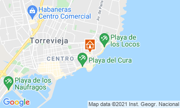 Map Torrevieja Apartment 75230