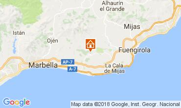 Map Marbella Apartment 112989