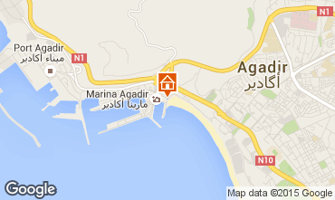 Map Agadir Apartment 87875