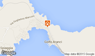 Map Aranci Gulf House 52469
