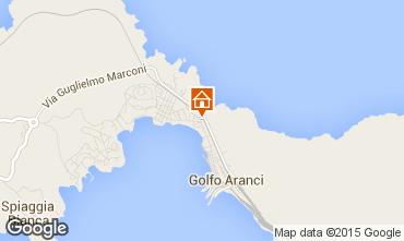 Map Aranci Gulf House 52469
