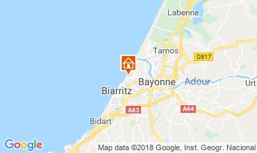 Map Biarritz Flat 82742