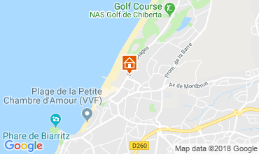 Map Biarritz Apartment 82742