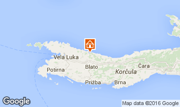 Map Prigradica House 43628