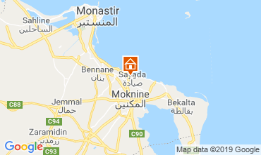 Map Monastir Apartment 117701