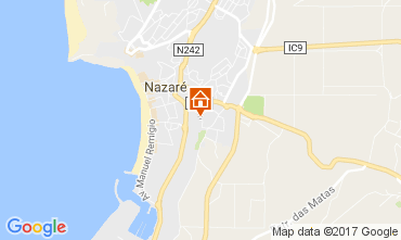 Map Nazaré Apartment 108779