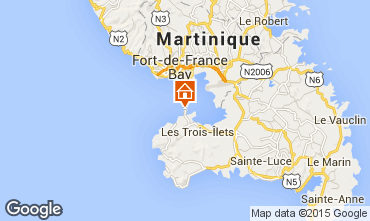 Map Trois Ilets Apartment 96101