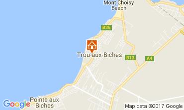 Map Trou-aux-biches Apartment 18911