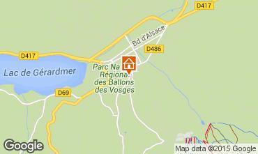 Map Gérardmer Apartment 4607