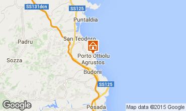 Map San Teodoro Apartment 80905