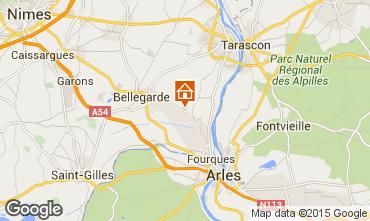 Map Arles Studio apartment 84896