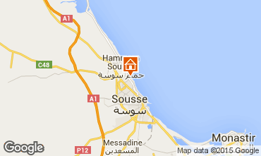 Map Sousse Apartment 80547