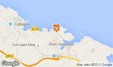 Map Collioure Apartment 49274
