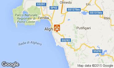 Map Alghero Villa 47678