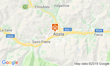 Map Aosta Apartment 75618