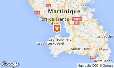 Map Trois Ilets Studio apartment 103294