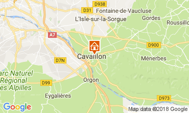 Map Cavaillon Villa 113322