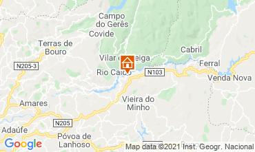 Map Vieira do Minho Apartment 50175