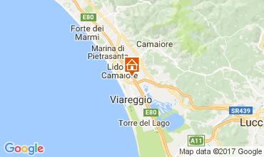 Map Viareggio Villa 109039