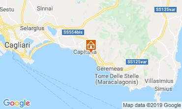 Map Quartu Sant'Elena Villa 118967