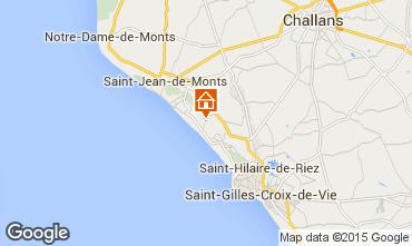 Map Saint Jean de Monts Mobile home 9432