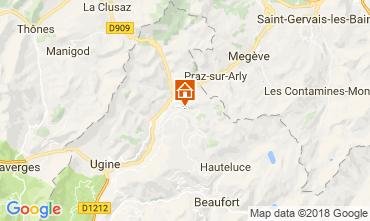 Map Notre Dame de Bellecombe Chalet 113667
