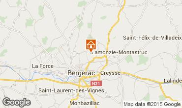 Map Bergerac Self-catering property 81835