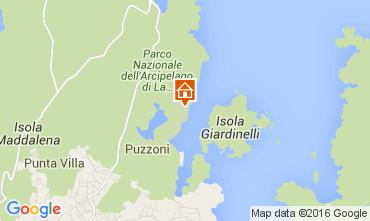 Map La Maddalena Apartment 99267