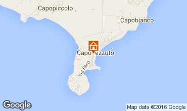 Map Isola di Capo Rizzuto Apartment 102410