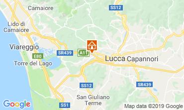 Map Lucca Apartment 118723
