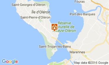 Map Le Château d'Oléron House 107551