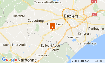 Map Beziers House 111289