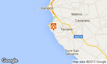 Map Gallipoli Villa 84965