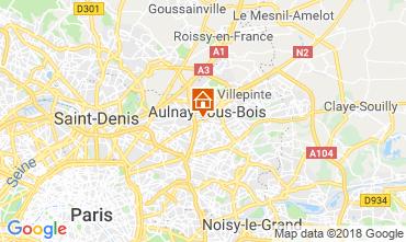 Map PARIS Apartment 93070