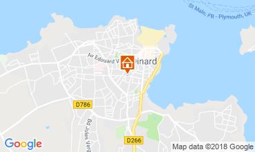 Map Dinard Apartment 117539