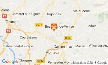 Map Aubignan Apartment 113586