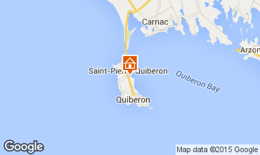 Map Saint Pierre Quiberon Villa 81399