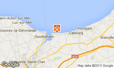 Map Cabourg Apartment 98720