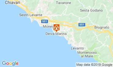 Map Deiva Marina Apartment 118970
