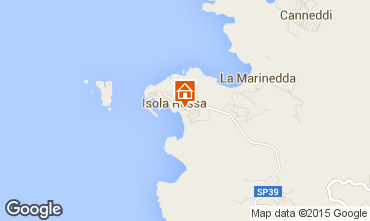Map Isola Rossa Apartment 61212