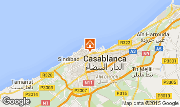 Map Casablanca Apartment 83261