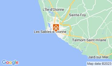 Map Les  Sables d'Olonne Apartment 7143