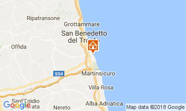 Map San Benedetto del Tronto Apartment 113196