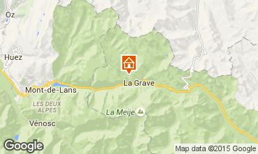 Map La Grave - La Meije Chalet 4764