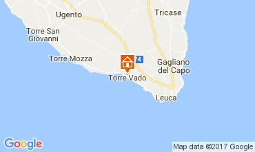 Map Torre Vado Studio apartment 108564