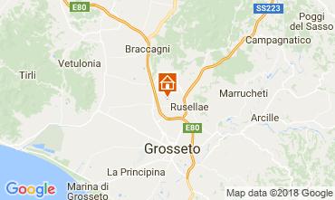 Map Castiglione della Pescaia Self-catering property 81182