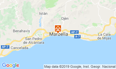 Map Marbella Apartment 119630