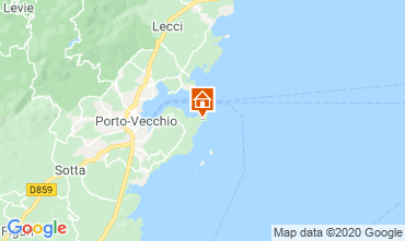 Map Porto Vecchio House 70501