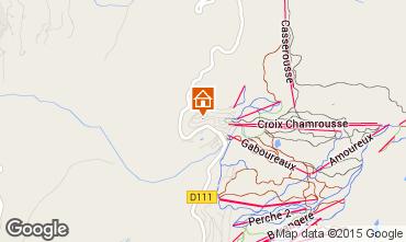 Map Chamrousse Apartment 91073