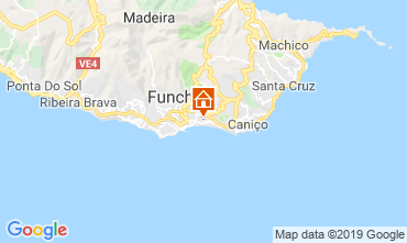 Map Funchal Apartment 58610